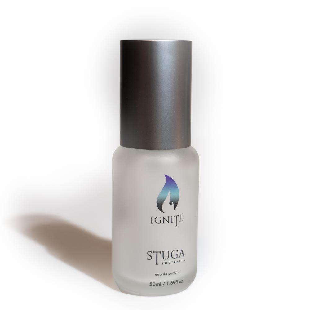 50ml bottle of handmade ignite perfume cologne