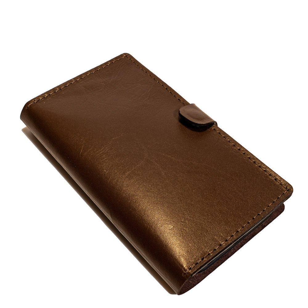 closed phone wallet