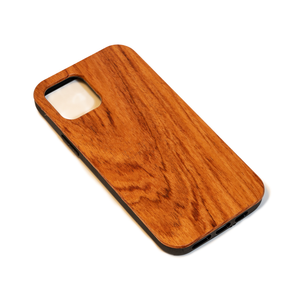empty wooden mobile phone case rosewood